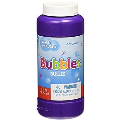 amscan Fun-Filled Bubbles | Party Favor | 8 oz.: Toys & Games