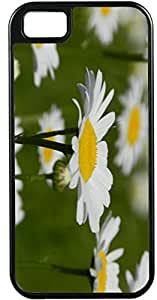 iPhone 5 Case iPhone 5S Case Cases Customized Gifts Cover white Leaves Flowers - Ideal Gift
