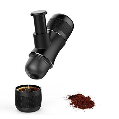 Mozeeda Portable Coffee Maker Mini Hand Pressed Espresso Coffee Machine For Backpacking Coffee Lover Outdoor Travel