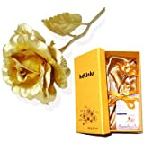 [Special 50% OFF Sale] KDLINKS 24K 6 Inch Gold Foil Rose, Best Valentine's Day Gift, Handcrafted and Last Forever...