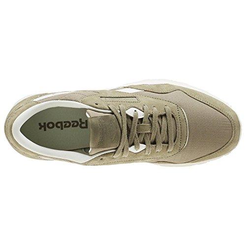 Chaussures Reebok - Cl Marron Nylon Sktn / Brun / Blanc Taille: 42 achat vente authentique remise professionnelle vente meilleur prix réduction excellente DX7NyNP81S