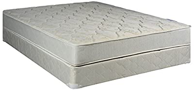 "Continental Sleep Hollywood Collection 9"" Fully Assembled Othopedic Mattress and Box Spring"