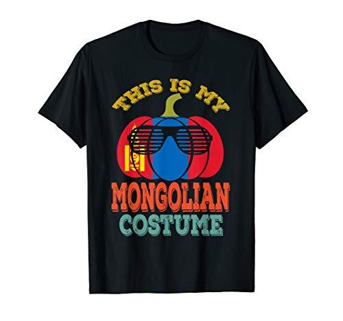 Mongolia Halloween T-Shirt This Is My Mongolian
