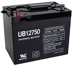 UB12750 45821 12V 75AH Grp 24 Battery Scooter Wheelchair Mobility Deep Cycle