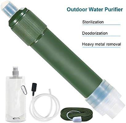 Borstu Filtro de Agua al Aire Libre Mini Filtro de Agua portátil ...