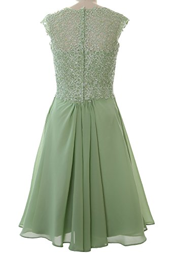Cap Wedding Formal Gown Short Sleeve Dress Women Bellini 2017 Cocktail MACloth Party R6wgAq7