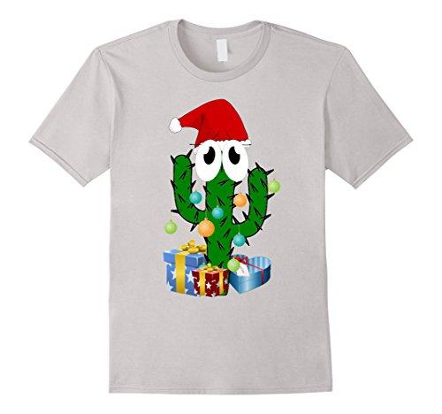 Mens Sweat cactus - christmas cactus present cactus love Large Silver Christmas Cactus Cartoon