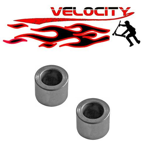2 x velocidad patinete núcleo metálico rueda eje ...