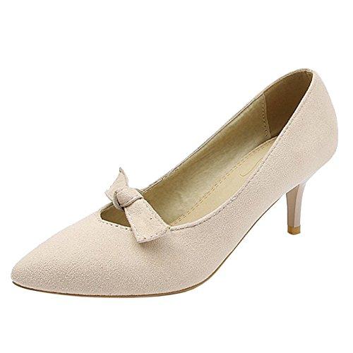Pointu Femmes Abricot Coolcept Escarpins Chaussures Aiguille qwvngdp1E