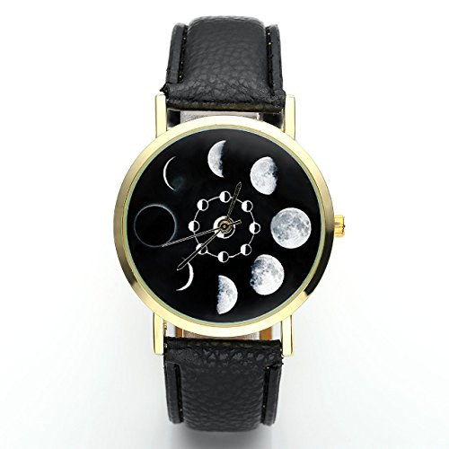 Top Plaza Unisex Fashion Moonphase