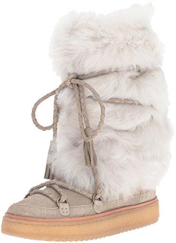 FRYE Women's Gail Shearling Tall Winter Boot Cement