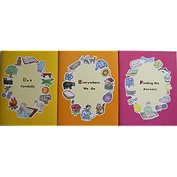 Early Learning Homeschool Preschool Curriculum: DEF Series of 3 Workbooks