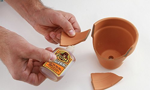 Gorilla Original Gorilla Glue, 4 oz., Brown With 10 Disposable Latex Finger Cots Rubber Fingertips by Baby Galore (Image #6)
