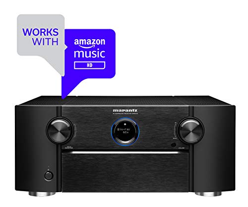 Marantz AV Receiver SR8012 - First-Ever High Performance 11.2 Channel, Auro 3D, IMAX Enhanced, Dolby Surround Sound, 205W 3 Zone Power