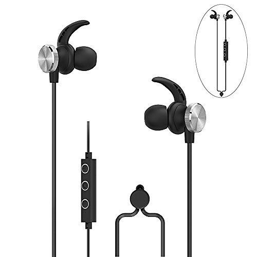 Sony A/v Stand (Wireless Bluetooth Earbuds in Ear Noise Cancelling Headphones with Microphone and Volume Control Athletic Stereo Magnetic Earphones Workout Sports Headset for Running Gym Apple Samsung Sony)