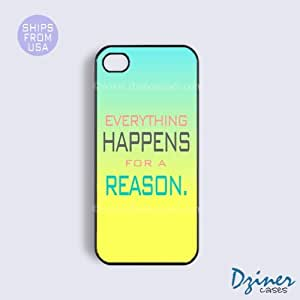 iPhone 5c Case - Everything Happen For A Reason iPhone Cover