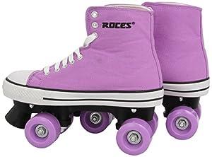 Roces Damen Rollerskates Chuck Classic Roller, Pink-White, 39, 550030-002