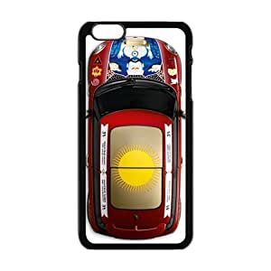 Happy Christmas unique red car design fashion cell phone case for iPhone 6 plus 6