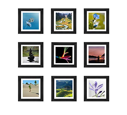 "(The Display Guys~ 9 pcs Square 8""x8 4"