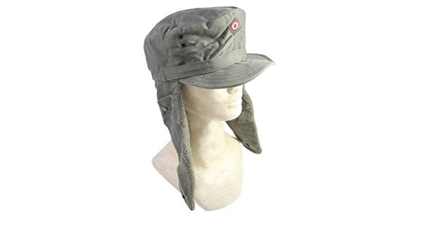 Amazon com: Austrian Army Surplus Winter Hat with Plush Ear-flaps