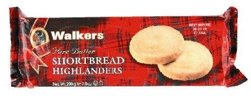 Highlander Shortbread - Walkers - Pure Butter Shortbread Highlanders - 200g (Case of 12)