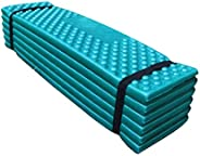 CUTICATE Foldable Mountaineering Foam Camping Mat Sleeping Pad Tent Dampproof Mattress, Perfect for Hiking &am