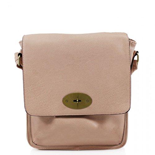 Body Faux Ladies Handbag Shoulder Satchel Tote Messenger Leather Pink Women Light Bag Cross qtAndA