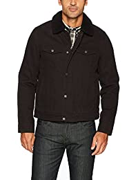 Men's Cotton Canvas Tucker Jacket with Sherpa Collar