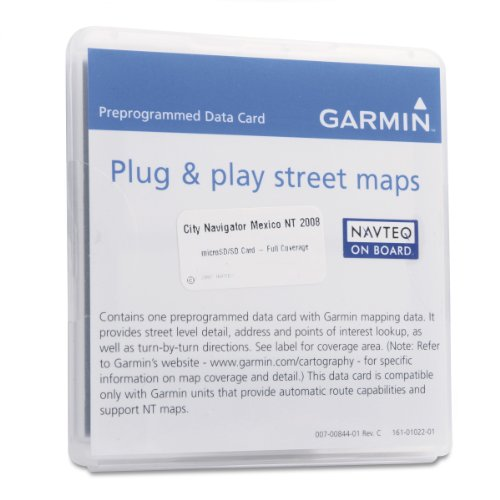 Garmin City Navigator 2009 Mexico Map microSD Card (Garmin Mexico Micro Sd Card compare prices)