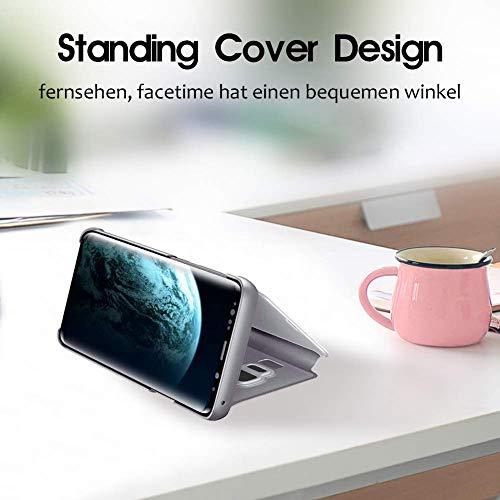 Étui View s10e 360° Téléphone S10 Cover Pour Avec Galaxy Coque Compatible Pc Luxe Flip Miroir Cas Samsung Clear Protection Housse Écran Argent Translucide S10 Plus nkO0wX8P
