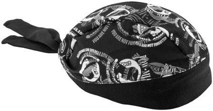 Schampa Stretch Headwrap, Gender: Mens/Unisex, Primary Color: Gray, Distinct Name: POW/MIA, Size: OSFA ()