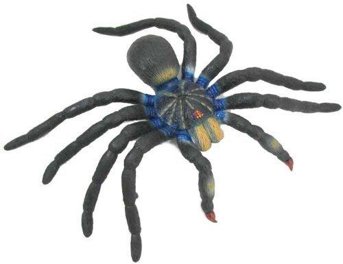 (17 Inch Jumbo Tarantula Spider; Lifelike Rubber Arachnid Replica by MameJo)