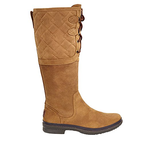 UGG Women's Elsa Deco Quilt Chestnut Boot 6 B (M) for sale  Delivered anywhere in USA