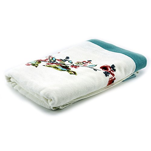 Lenox Simply Fine Chirp Bath Towel, Multi-Color