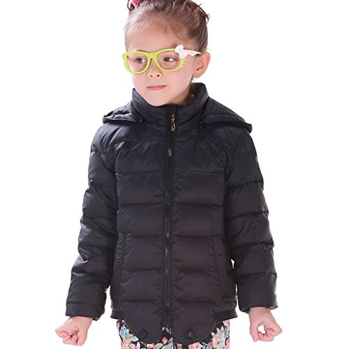Hiheart Girls Lightweight Down Jackets Hooded Down Coats For Girls