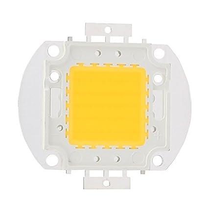 Cuentas eDealMax DC 30-35V 50W LED de alta potencia SMD chip luz blanca cálida