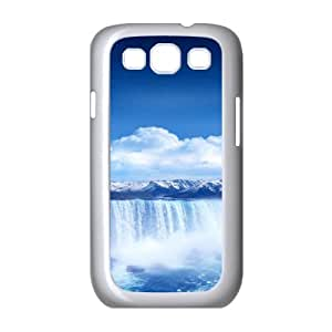 Samsung Galaxy S3 Cases Waterfall 16 for Teen Girls Protective, Samsung Galaxy S3 Case I9300 Shockproof for Teen Girls Protective [White]