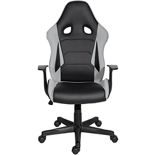 41g tzMsOeL - ModernLuxe-Racing-Style-Gaming-Chair-Soft-PU-Leather-and-Mesh-Fabric-Task-Chair