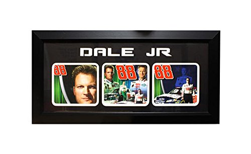 (Encore Select 304-04 NASCAR Dale Earnhardt Junior 3-Photo Frame, 15-Inch by 35-Inch)