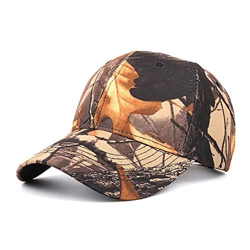 GLLH Ocio C los Sombreros Gorra hat de béisbol Hojas Deportes B Gorra al de Hombres Libre Camuflaje qin de de Aire los Sombrero Sombrero de q6WBrPqw