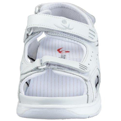 Outdoor Texas Shi Step Sandalen 91021 Comfort AuBioRiG Weiss Sandale Damen Weiss Chung FwqTnU4Off