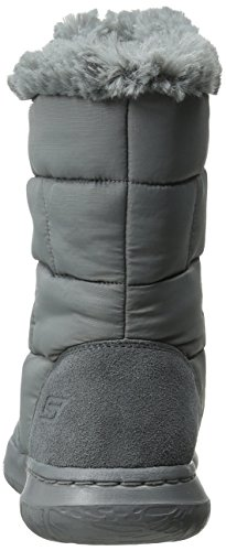 Skechers Rendimiento Go Walk Ciudad Winter Boot gris oscuro