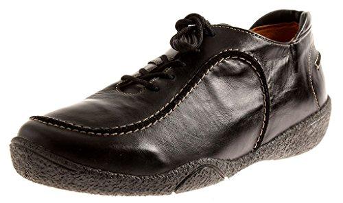 Chaussures Lacets Noir M En Amovibles Theresia chaussures Femme 66740 Cuir À Semelles Intérieures I7Xxpqg