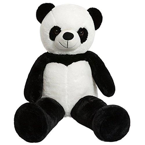 iBonny Giant Panda Teddy Bear Stuffed Animal Classic White and Black Soft Plush Bear Toy 32 Inch
