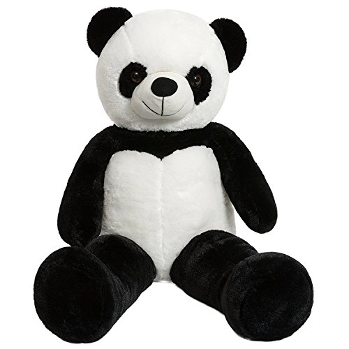 iBonny Giant Panda Teddy Bear Stuffed Animal Classic White and Black Soft Plush Bear Toy 32 Inch