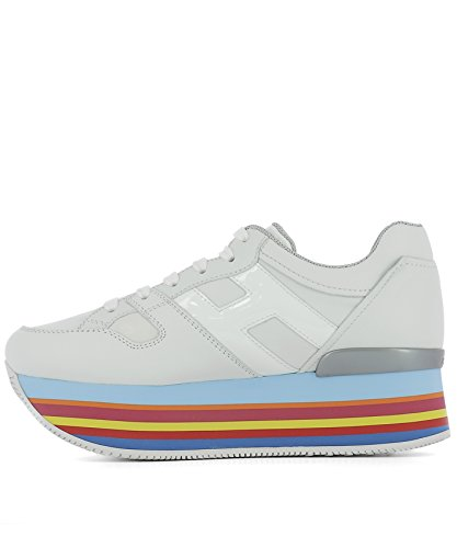 Hogan Sneakers Donna HXW2830T544DYQB001 Pelle Bianco