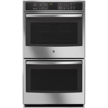 """GE PT9550SFSS Profile 30"""" Stainless Steel Electric Double Wall Oven Convection"""