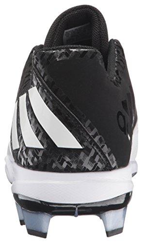 Chaussure De Baseball Poweralley 4 Tpu Homme Adidas Noir / Blanc / Blanc