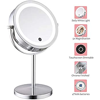 Amazon Com Lighted Makeup Mirror 7 Quot Led Vanity Mirror