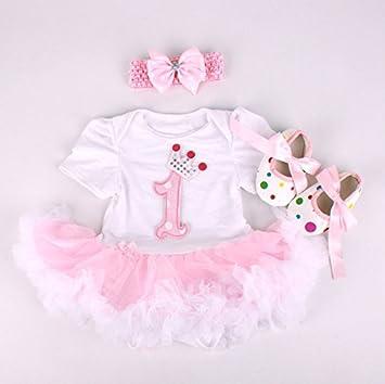 Handmade Clothes Dress Set fit For 22/'/' Newborn Reborn Baby Girl Doll Christmas